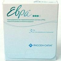 Евра Контрацептивный пластырь