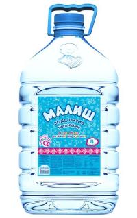 Детская питьевая вода Малиш