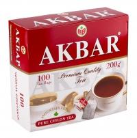 Чай Акбар красно белый
