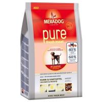 Корм для собак Meradog PURE FRESH MEAT Huhn & Kartoffel (со свежей курицей и картофелем)