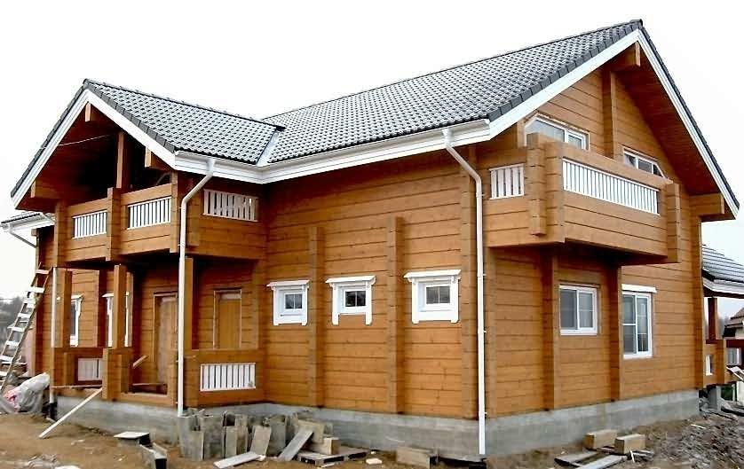 Дом из клееного бруса от Приозерского лесокомбината