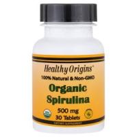 Органическая спирулина Healthy Origins