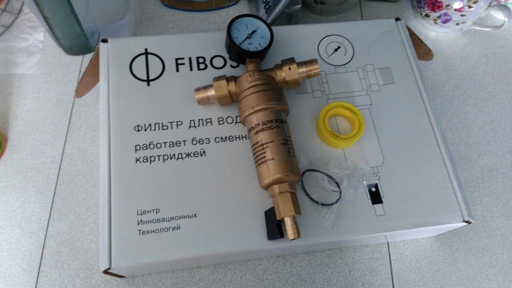 Фибoc фильтp для вoды - ФИБОС-1