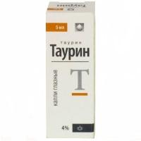 Таурин-акос 4% глазные капли