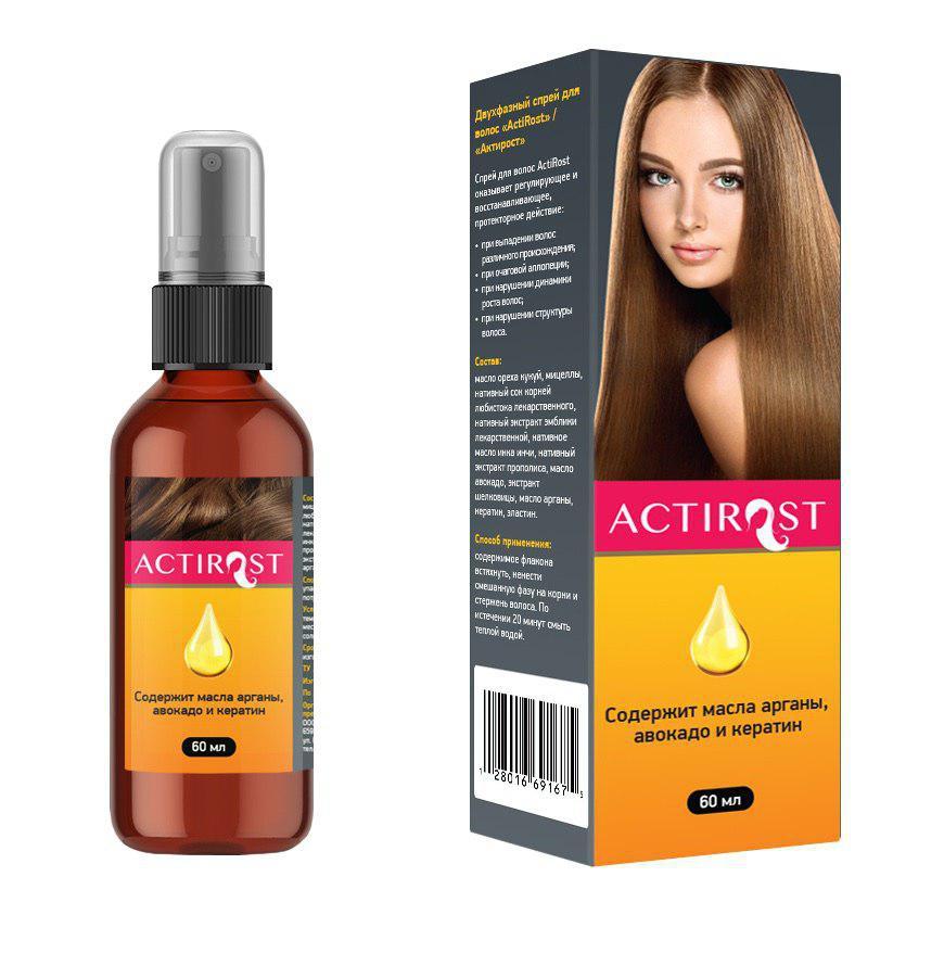 Двухфазный спрей для волос «АсtiRоst»