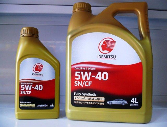 Моторное масло Idemitsu 5w40