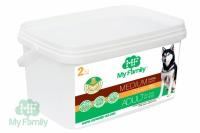 Сухой корм для собак Мy Family Medium adult