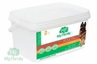 Сухой корм с курицей My Family Premium Adult для взрослых собак всех пород