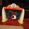 Отзыв о Игровой центр Chicco Футбольная лига: Интересный игровой центр, мастхэв для семей с мальчишками