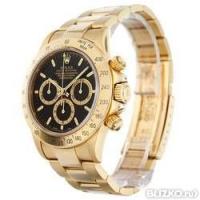 Часы Rolex Daytona Черно-золотые Механические