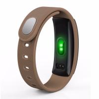 Фитнес браслет Smart Band QS80 коричневый