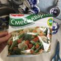 Отзыв о Podravka замороженные овощи: Смесь квартет