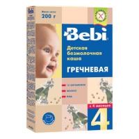Безмолочная гречневая гипоаллергенная каша BEBI
