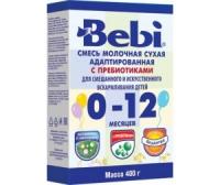 Детская сухая адаптированная молочная смесь Bebi 0-12мес