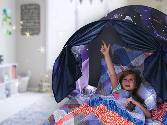 """детская палатка """"Мечта"""" - Маленький домик на кровати"""
