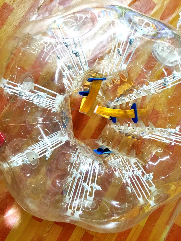 Компания БатутМастер - Бамперболлы с удобными креплениями от БатутМастер
