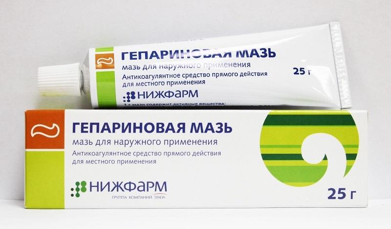 Гепариновая мазь отзывы