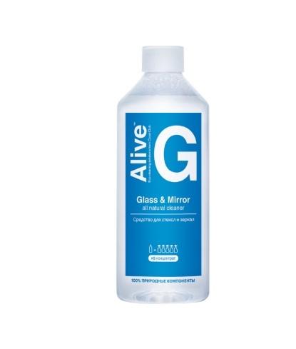 Alive G Средство для стекол и зеркал - зеркала и стекла чисты!