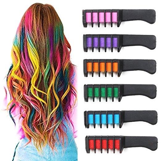 """Цветные мелки """"Яркие волосы"""""""
