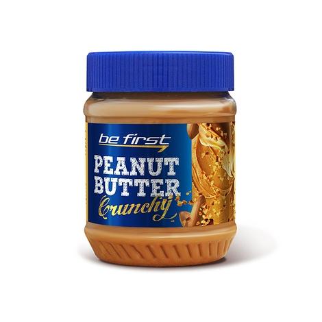 Арахисовая паста Be First Crunchy (с дробленым арахисом) 340 гр