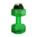 Отзыв о Be First Бутылка-гантеля для воды 2200 мл SN6010: забавный дизайн