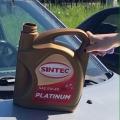 Отзыв о Моторное масло SINTEC: А масло-то хорошее