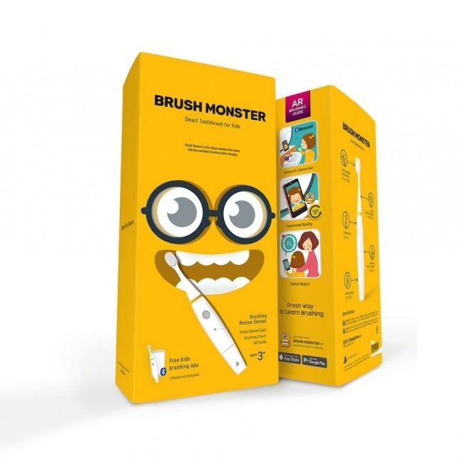 """Детская зубная щётка """"Brush monster"""""""