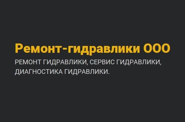 Ремонт-гидравлики hydraulics-service.ru отзывы