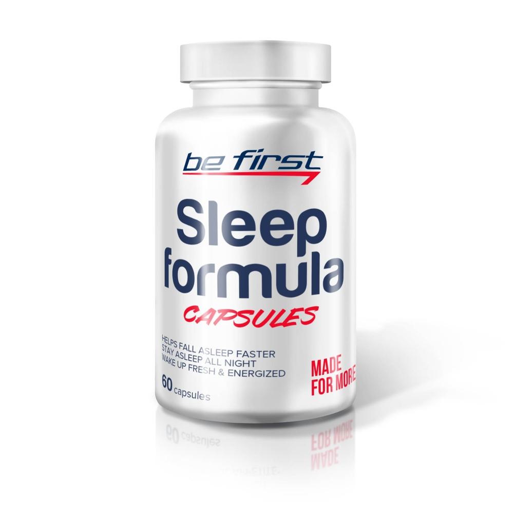 Be First Sleep formula, 60 капсул