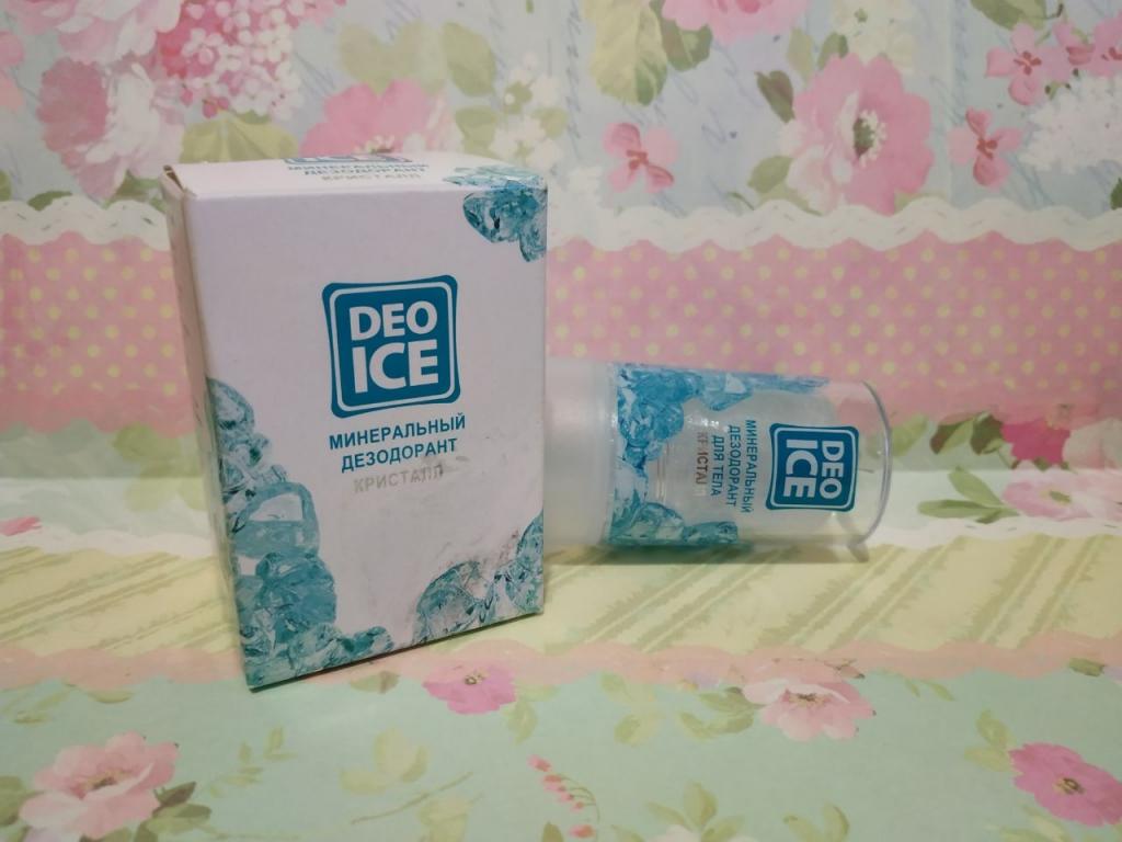 Минеральный дезодорант-кристалл Deo Ice
