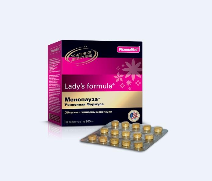 Lady`s Formula Менопауза Усиленная формула Pharmamed отзывы