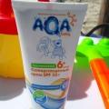 Отзыв о Детский солнцезащитный крем Аква беби: Отличный крем для защиты кожи младенца от солнечных лучей