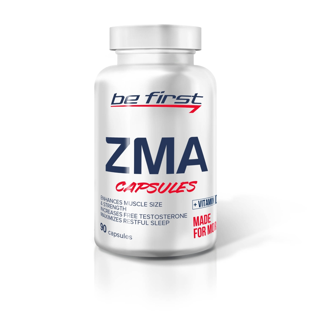 Be First ZMA + vitamin D3, 90 капсул