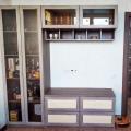 """Отзыв о Шкаф со стеклянными распашными дверьми: Шкаф со стеклянными распашными дверьми от """"Мебель Москва"""""""