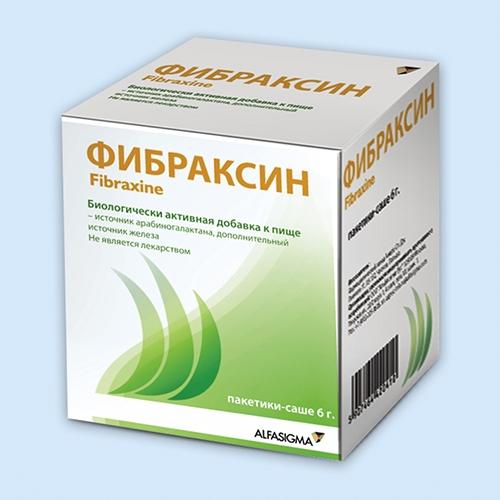 Фибраксин (Fibraxine)