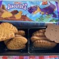 Отзыв о Печенье в молочной глазури Dinosaurs: Много дино в одной упаковке