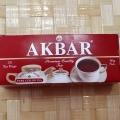 Отзыв о Akbar Красно-белая серия 25 пак: Хороший чай для повседневного чаепития
