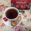 Отзыв о Чай Bernley Wild Berries с малиной, черникой и вербеной: Вкусный, лёгкий, освежающий, ароматный напиток