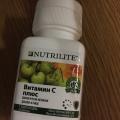 Отзыв о NUTRILITE  Витамин С плюс: