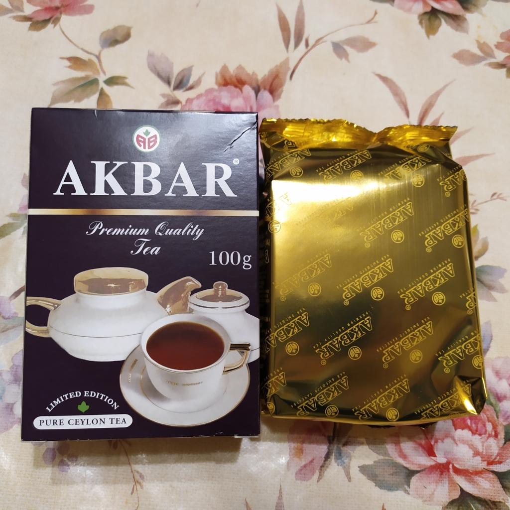 Чай Akbar Limited Edition крупнолистовой - Рекомендую черный цейлонский чай Акбар Лимитэд Эдишн