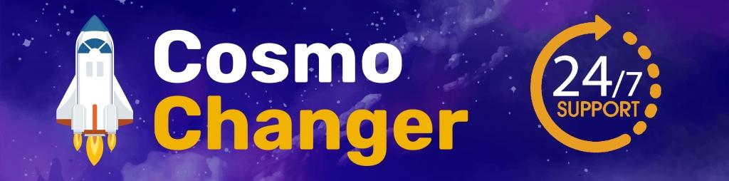 Обменник криптовалют. - Cosmochanger.cc - Самый реактивный обменник. Быстрый и безопасный спос