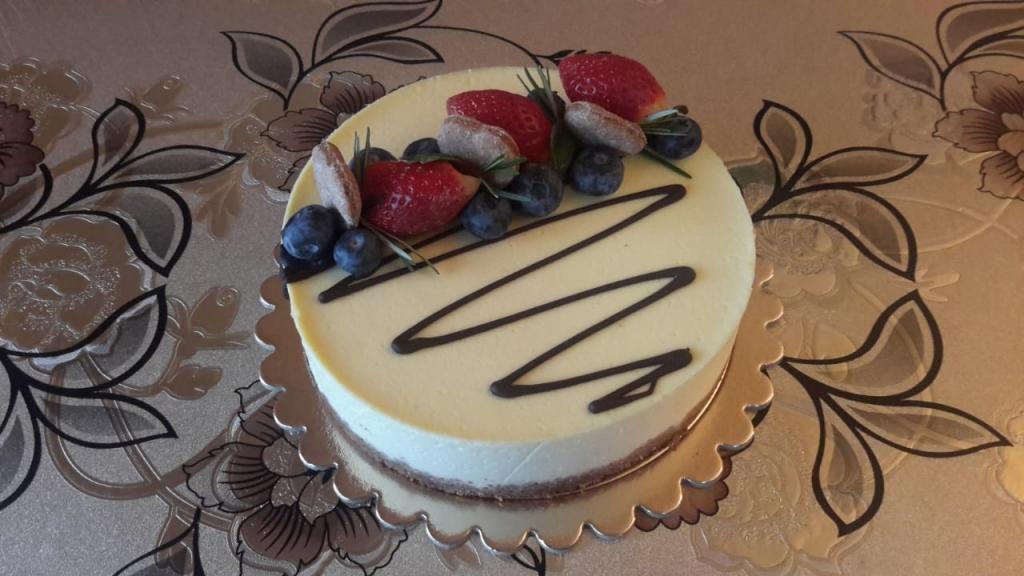 """Tasha's cake school - Курс - """"Полезные низкокалорийные десерты"""""""
