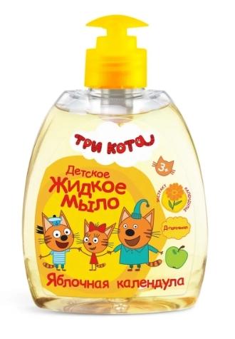 Жидкое мыло детское ТРИ КОТА Яблочная календула - Всегда для ребенка покупаю это жидкое мыло