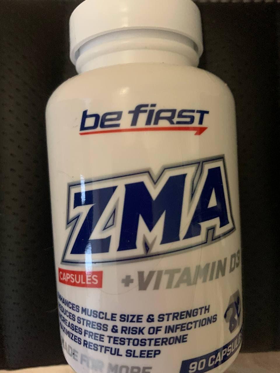 Be First ZMA + vitamin D3, 90 капсул - Спортсмену нужная добавка