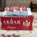 Отзыв о Черный чай Akbar Сeylon АВ: Чай Akbar Сeylon АВ -черный байховый, 25 пак.