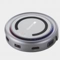 """Отзыв о Мультипортовый адаптер """"хаб"""" USB Type-C с беспроводной зарядкой DS-7: Зарядка супер"""