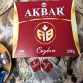 Отзыв о Чай Akbar Сeylon АВ, 100 пак.: Качественный цейлонский чай